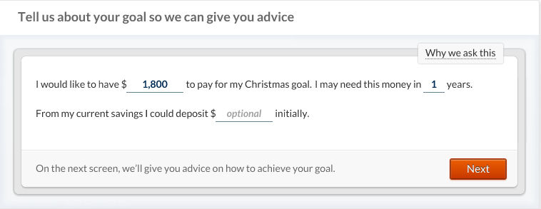 betterment-christmas-goal-amount-timeline