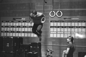 A ring muscle up!