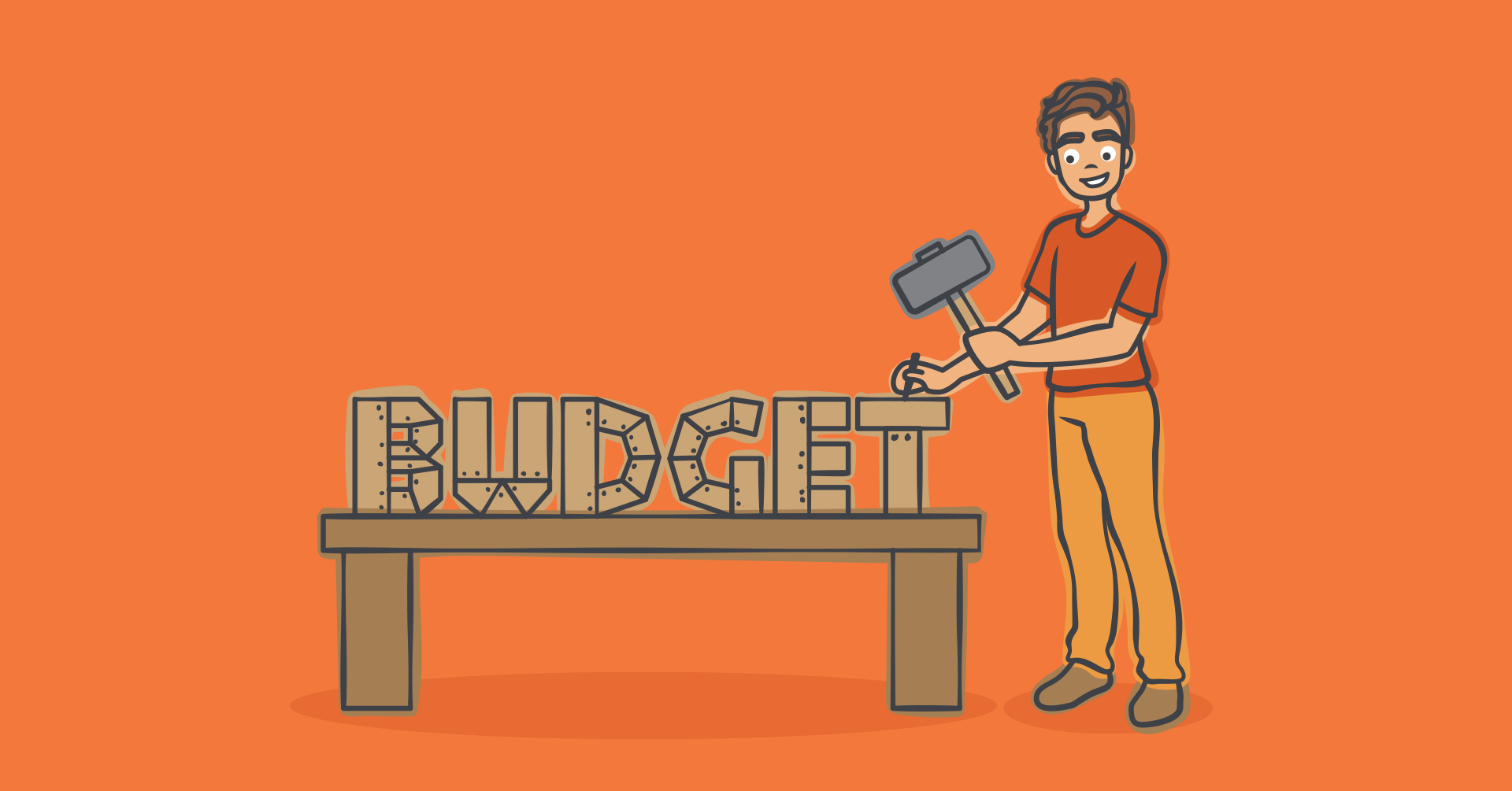 how to make a budget template