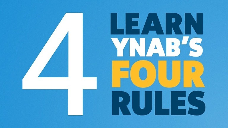 Learn YNAB's Four Rules
