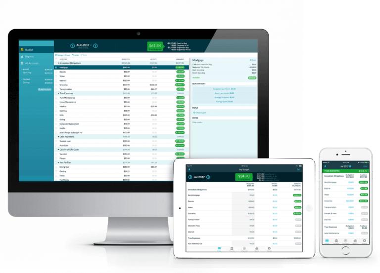 YNAB Desktop and Mobile Apps