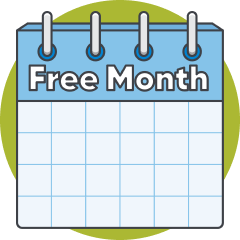 Get a Free Month