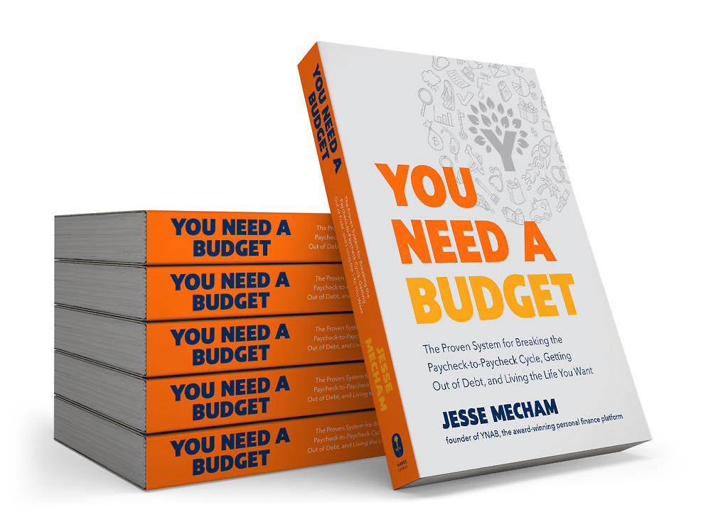 Struggling to budget? Read the You Need a Budget Book by YNAB CEO Jesse Mecham