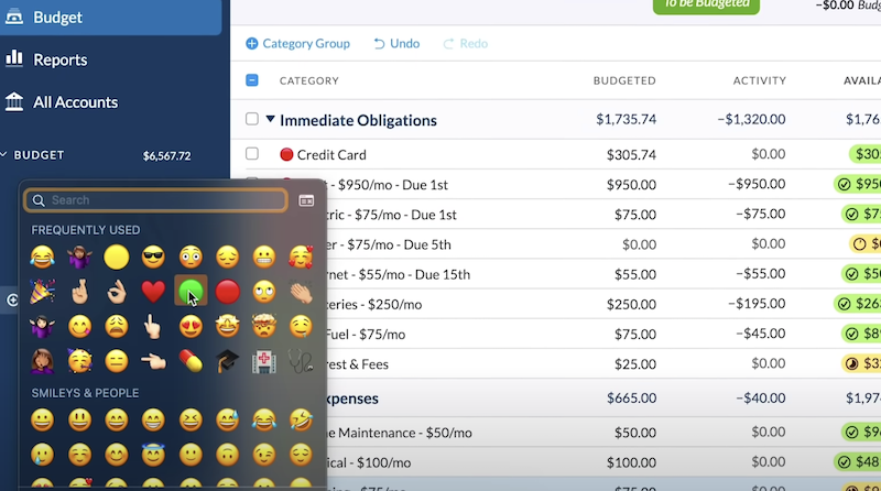 Agregue emojis al presupuesto de su aplicación web con un atajo de teclado.