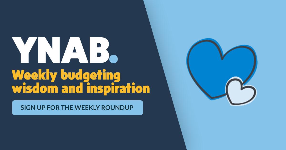 weekly roundup ynab